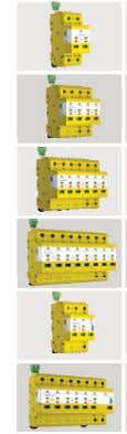 ZOTUP SPDs for LOW VOLTAGE APP. For AC applications SPD Model   L 25/100 230 ff