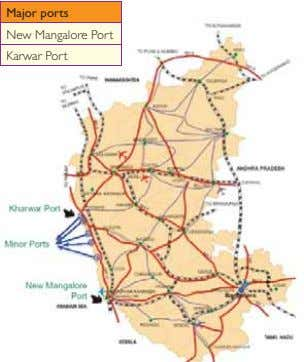 Major ports New Mangalore Port Karwar Port