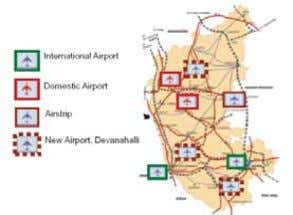 as economic activity has raised demands for higher traffic. Minor Airports/Low Cost Airports: New minor airports