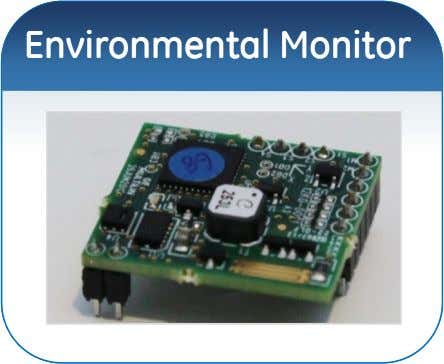 EnvironmentalEnvironmental MonitorMonitor