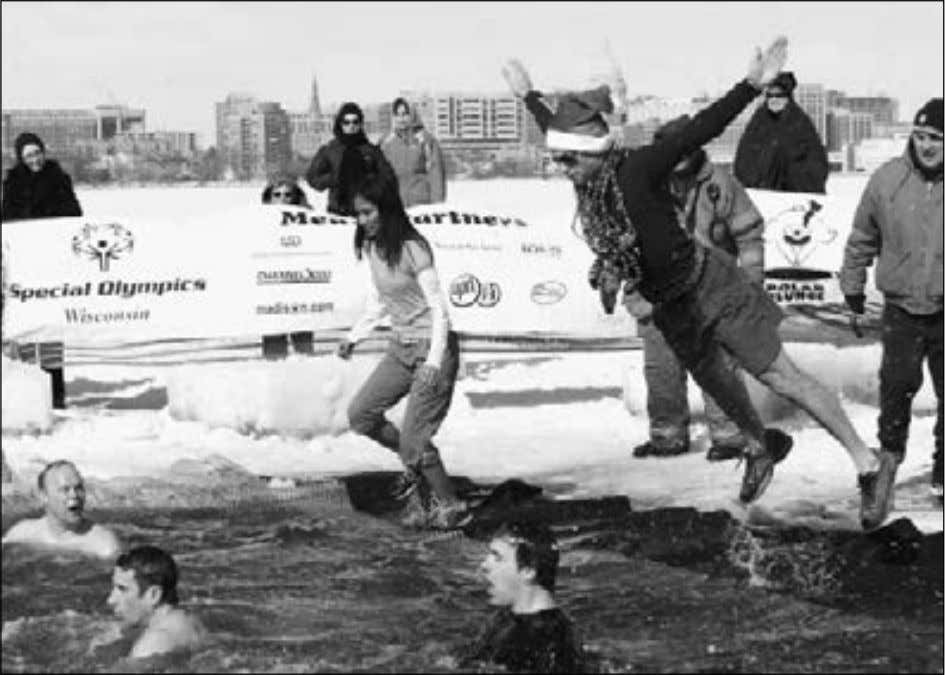 Guide to Graduate Student Life at UW–Madison Photo: GSC Polar Plunge. • Proceedings of the state