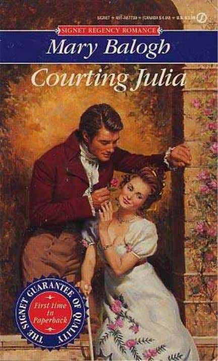 Courting Julia Mary Balogh