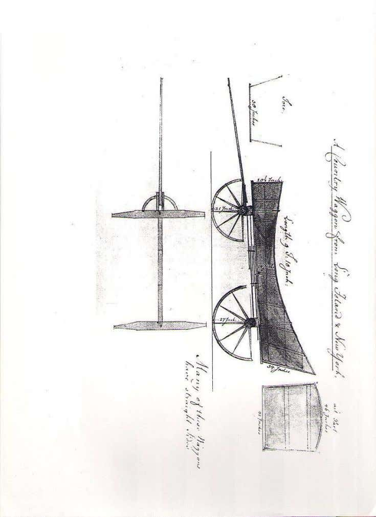 """A Country Waggon from Long Island & New York"" (drawn circa 1778), also known as"