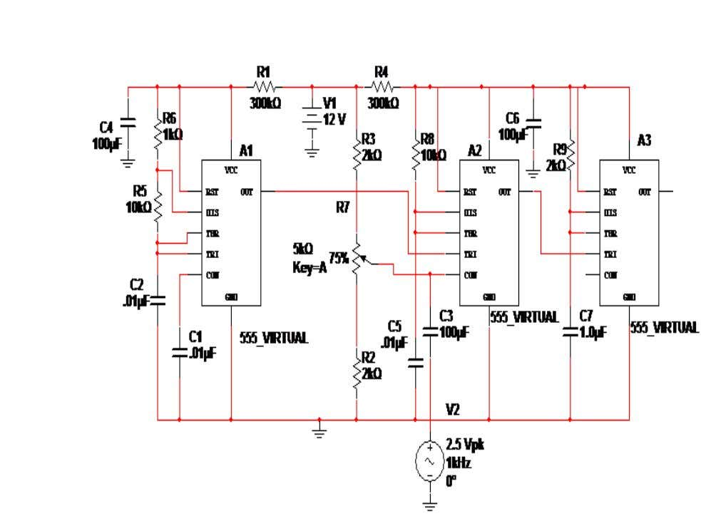 Circuit Diagram: Fig: Circuit diagram of PTM (PWM and PPM)
