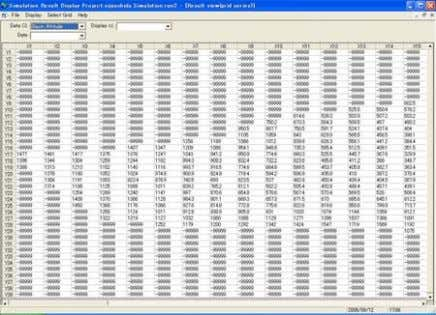 results in time series Plan display of calculation results ⑨ KMLExpoter(Output Kml format file from Simulation