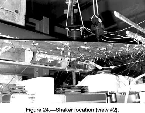 Shaker inputs.— It is recommended that sine dwell be used as the shaking force since