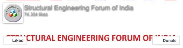 Structural Engineering Forum of India 74,334 likes Liked Donate