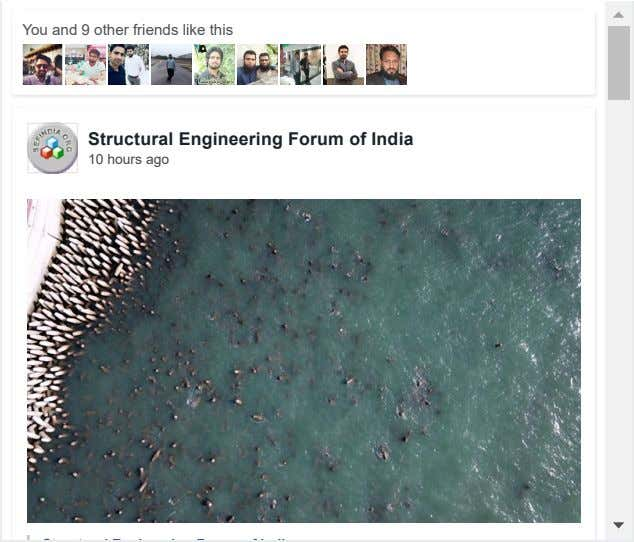 You and 9 other friends like this Structural Engineering Forum of India 10 hours ago