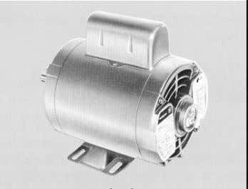 phase motor with the addition of a capacitor in the starting winding. • Capacitor sized for
