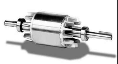 "induces an opposing magnetic field onto the rotor causing the rotor to ""push"" away from the"