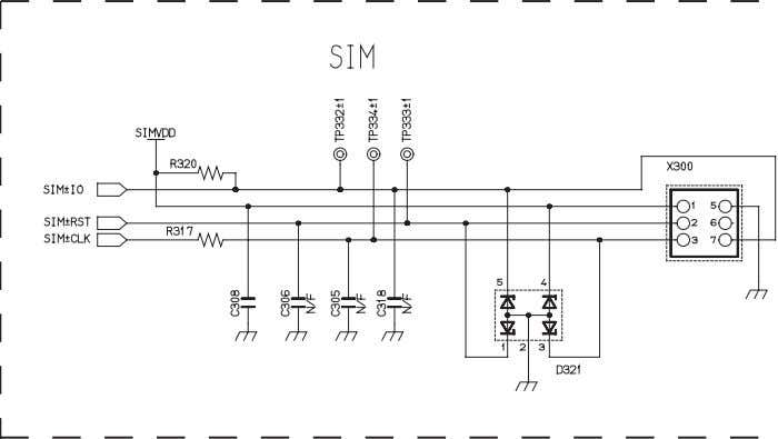 CIRCUIT DIAGRAMS Figure 11.3: Circuit Diagram - Peripherals 1 PMCD030901C8 Section 11 Issue 1 Service Manual
