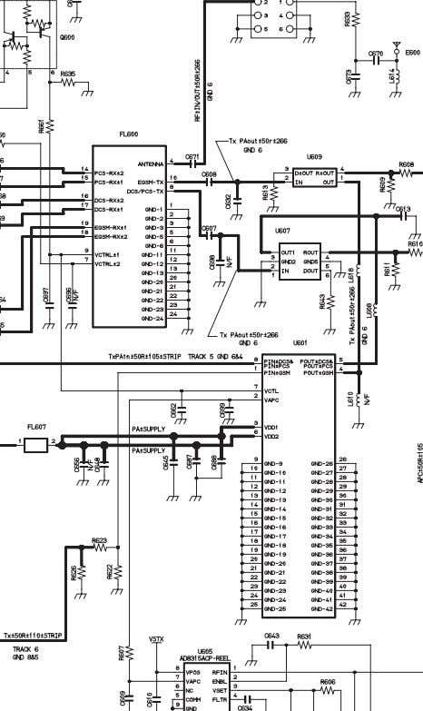 Figure 11.7: Circuit Diagram - RF CIRCUIT DIAGRAMS PMCD030901C8 Section 11 Issue 1 Service Manual –