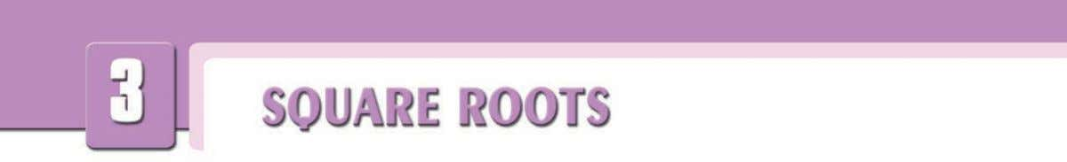 1. Understanding Square Roots Remember that we can write a  a as a 2