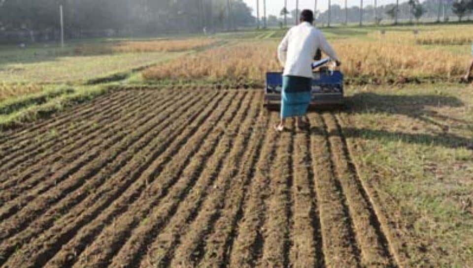 Gangetic Plains of India Seeding in nontilled soil (ZT-DSR) Seeding with strip tillage using a PTOS