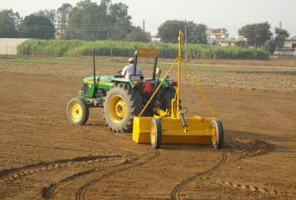 Guidelines for DSR in the Eastern Gangetic Plains of India Land leveling using laser guidance Good