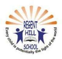 Regent Hill School-Tlokweng P O Box 80513 Gaborone Tel: 3919727 Cell: 76932232 / 72899921 Fax: