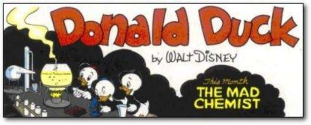 his comic book that accidentally discovered a new molecule A 1944 Donald Duck comic had the