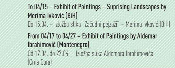 To 04/15 – Exhibit of Paintings – Suprising Landscapes by Merima Ivkovi (BiH) Do 15.04.