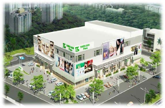 Viet Nam – Track Record THIEN SON PLAZA, D7, HCMC Total Area: 15,000 sqm Developer: Thien