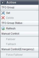 "existing TFO Group, which needs to be checked before you press the ""Set"" button. Page 20"