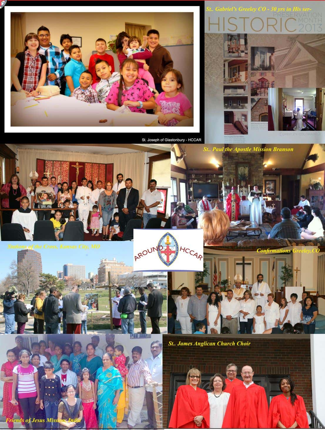 St Gabriel's Greeley CO - 30 yrs in His ser- St Paul the Apostle Mission