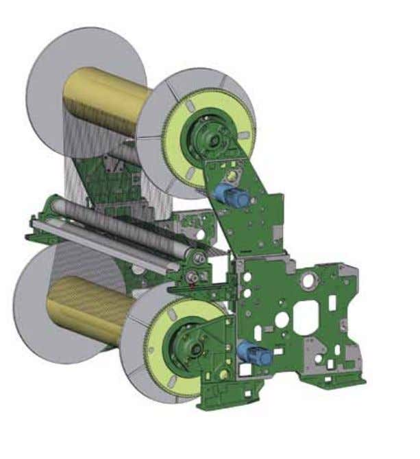 Flexible warp beam support Warp beam support is flexible and individually adaptable to customer requirements.