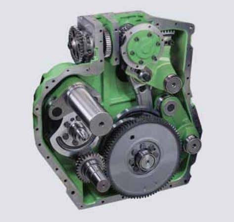 lubrication provides for increased performance, low maintenance and high longevity of the gearboxes´ working life. 4