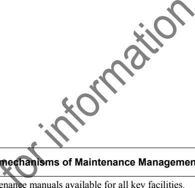 Ratio of planned to total maintenance jobs (by asset type)  Operations, Maintenance & Administration (OMA)
