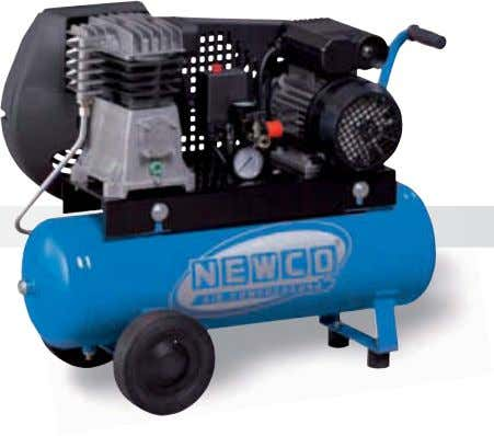 BELT DRIVEN SINGLE STAGE TWIN CYLINDER COMPRESSORS 28 NG2.8 25C 2M NG2.8 100C 2M NG2.8 50C