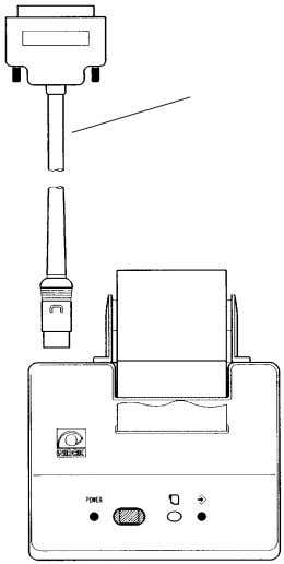 cable. External instrument (personal computer etc.) External Connection Cable Printer *1 Accessory equipment