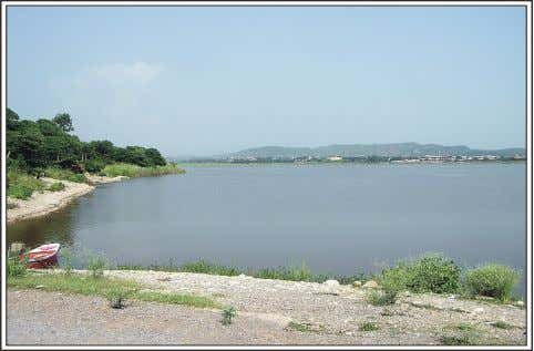 which originates from Murree hills towards north- east. Fig. 3.3. View of Rawal Lake Ecological Zonation