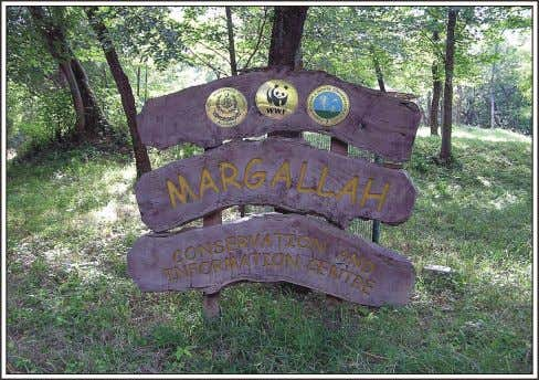 provides information to students and researchers. Fig. 3.10. Fig. 3.10. Margallah Conservation and Information Centre