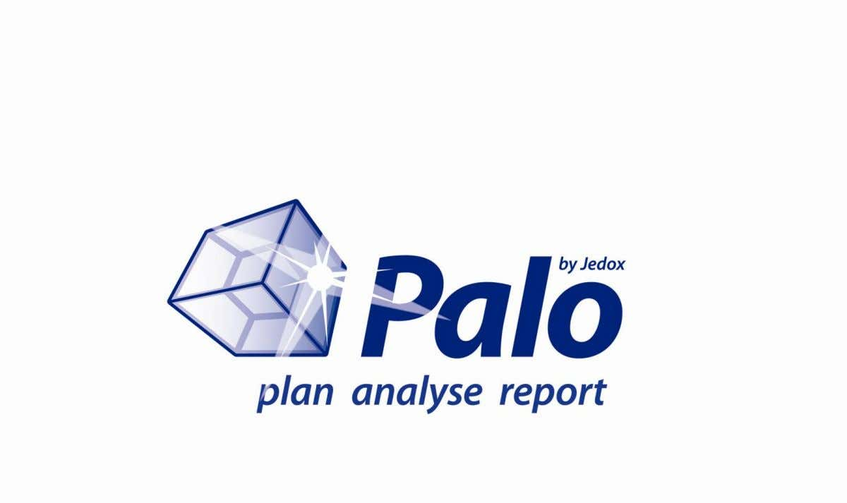 Erste Schritte mit Palo Web Version 3.2 SR3 Commercial Open Source Business Intelligence for Performance
