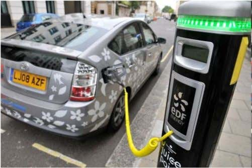 Access for cars to cities limited to EVs and most efficient ICEs 5. Consumers are low
