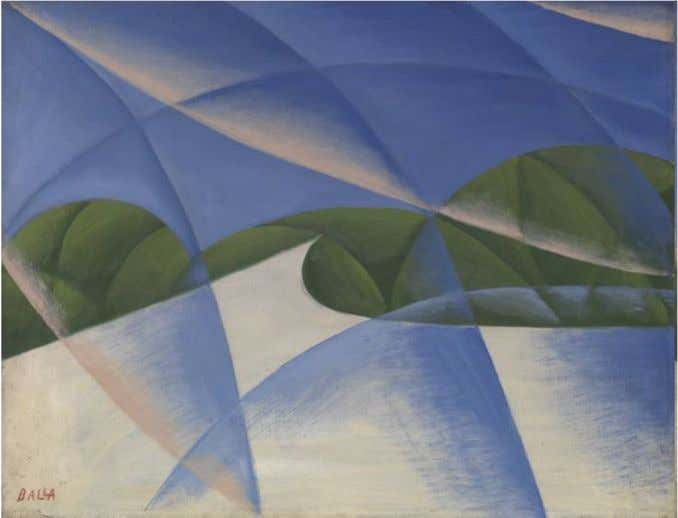 to 'decarbonise' transport as higher speeds use more energy Giacomo Balla 1913 Abstract Speed - the