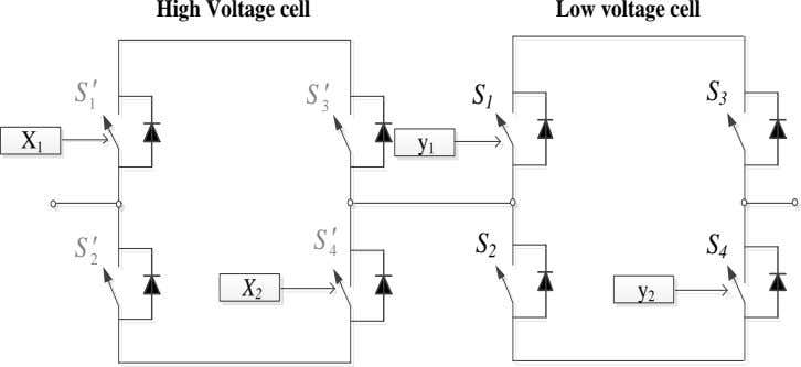 High Voltage cell Low voltage cell S  S  1 3 S S 3