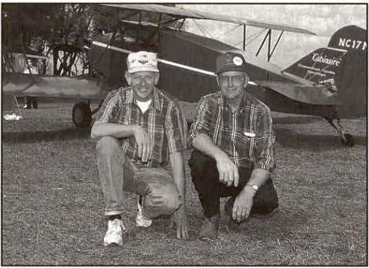 Fred Clark and Bud Roger's Paramount Cabinaire An unusual cabin biplane From 1929 is back