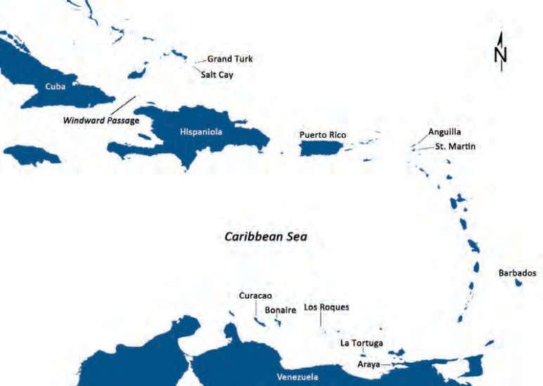 BOOK OF ABSTRACTS Figure 1. The Caribbean and the northern coast of South America. Figure 2.