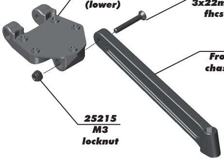 (lower) fhcs 25215 M3 locknut