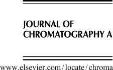 Journal of Chromatography A, 1158 (2007) 111–125 Analysis of recent pharmaceutical regulatory documents on analytical