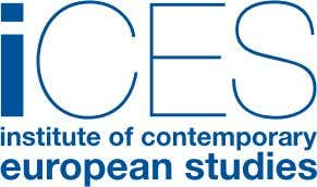 Contemporary Europe i CES Annual Review 08/09 Edited by Michael Scriven Institute of Contemporary European