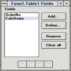 field, an OnCalcFields event triggers for that record. Figure 4: The Fields editor dialog box with