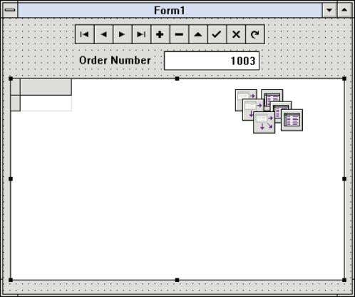 to return. Click Define again and at Field Name JULY 1995 Figure 6: The modified form