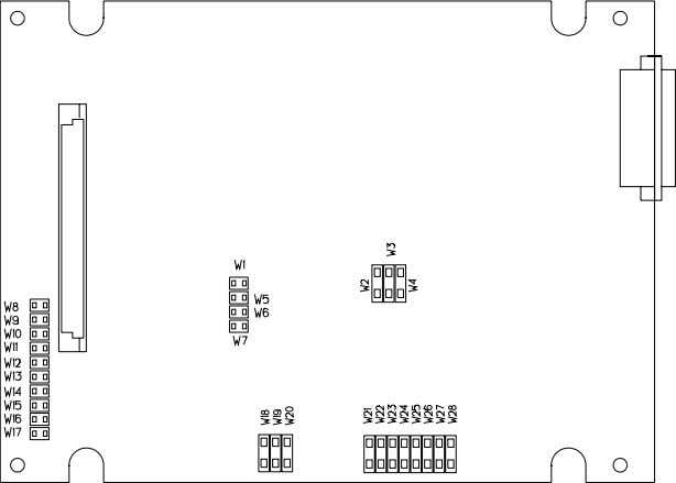 Circuit Board Part Number 87870-01 2.2.2 Dynamic Data Interface Circuit Board Part Number 87880-01 or 140514-01