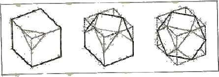 of regular polyhedrons that begin to approximate a sphere. Because they are easily recognizable, simple geometric