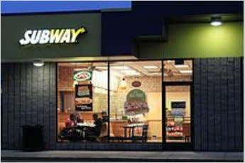 Um restaurante da Subway em Pittsfield Township, Michigan .