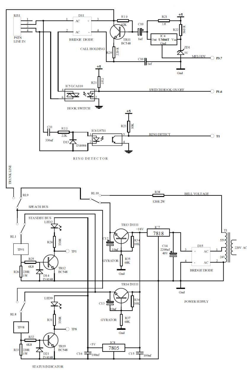 Figure 3: Circuit Diagram of the PABx-2