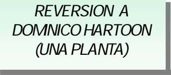 REVERSION A DOMINICO HARTOON (UNA PLANTA)