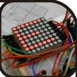 LED Displays (8 x 8 LED Matrix) The Pieces 8 x 8 Bi-Colour LED Matrix (common
