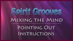 to mix meditation technique with day-to-day activities. NEW Spirit Grooves: Mixing the Mind – Pointing Out